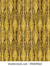 Art Deco golden pattern