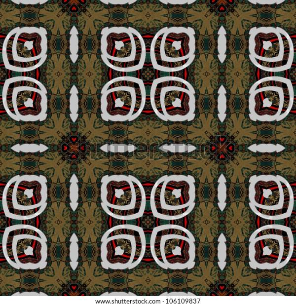 art eastern ornamental traditional pattern
