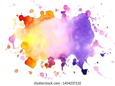 art hand brush stroke stain shades watercolor creative.