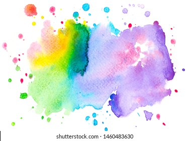 art hand paint shades abstract watercolor background.