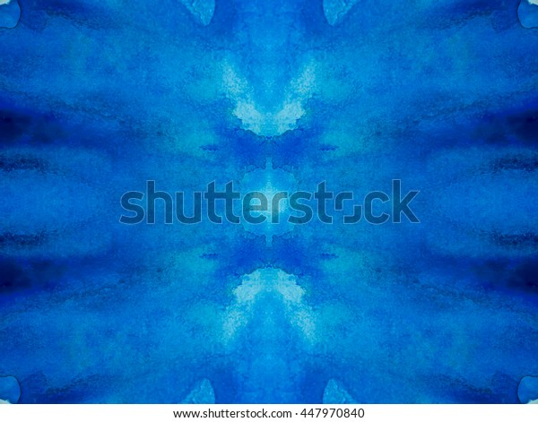 art pattern from watercolor  painted  background