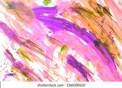 Art therapy. Creative background, abstract art. Creative process. Woman art. Spring time, love and joy.