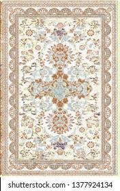 art vintage, traditional classical carpet, rug pattern design / distressed texture background /İkat, tie dye texture  modern  floor