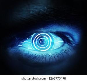 Artificial Eye Photomanipulation