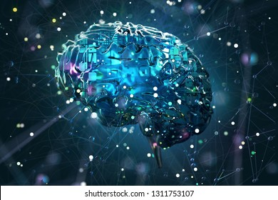 Artificial Intelligence Concept (3D Rendering)