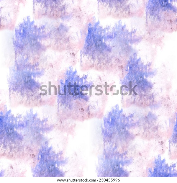 artist purple, blue seamless watercolor wallpaper texture of handmade