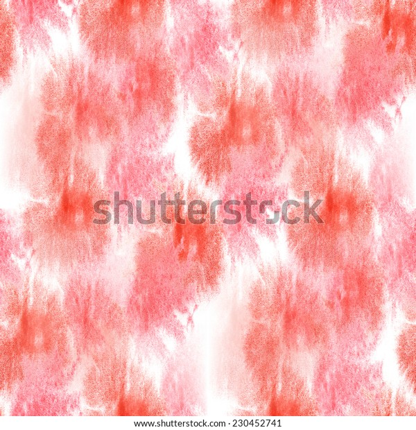 artist white, red seamless watercolor wallpaper texture of handmade