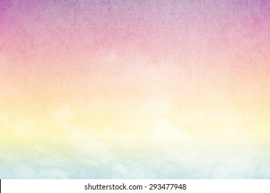 artistic cloud and sky abstract background with grunge  texture