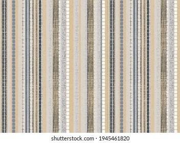 Artistic red stripe  deep dye stripe, tie dyed geo effect boho seamless  print pattern design . Abstract Texture Hand Ethnic Batik for runner carpet, rug, scarf, curtain