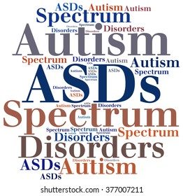 ASDs - Autism Spectrum Disorders. Disease abbreviation.
