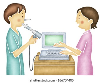 Pulmonary Function Test Images, Stock Photos & Vectors ...