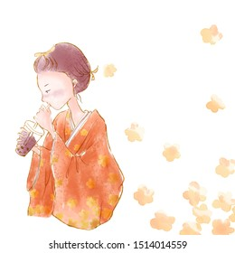 asian woman drinking iced bubble milk tea; aka boba tea, pearl milk tea, tapioca tea, asian exotic beverage concept