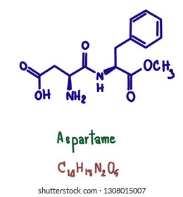 Aspartame is an artificial non-saccharide sweetener used as a sugar substitute in some foods and beverages. In the European Union, it is codified as E951. Aspartame is a methyl ester