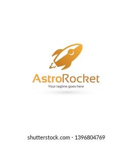 Astro Rocket /Rocket Logo Template