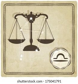 astrological sign - libra -  illustration