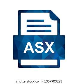 ASX File Document Icon