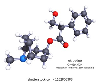 Atropine is an alkaloid found in plants of the nightshade family. Atropine is a medication for poisoning by nerve agents or insecticides and for certain eye conditions.