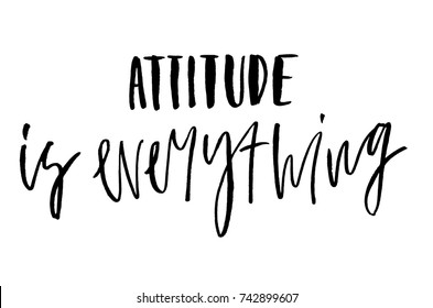 attitude is everything images stock photos vectors shutterstock