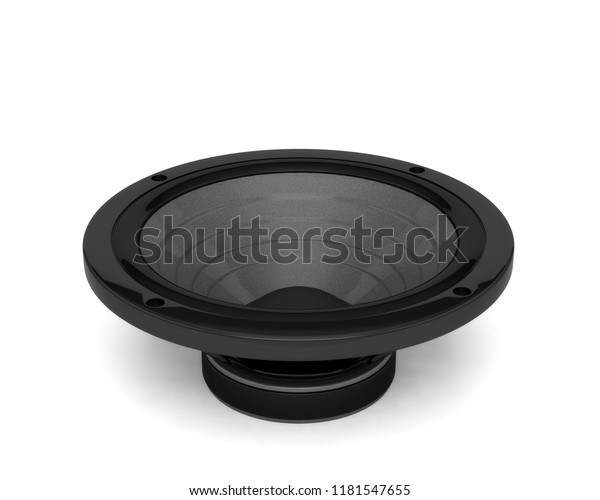 Audio Speaker Sound Music 3d Illustration Stock Illustration 1181547655