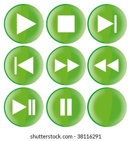 audio / video buttons