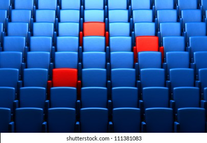 auditorium with reserved seats