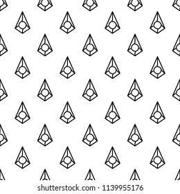augur debit card icon in Pattern style on white background