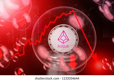 AUGUR (REP) in a soap bubble. Risks and dangers of investing to AUGUR. Collapse of the exchange rate. Unstable concept