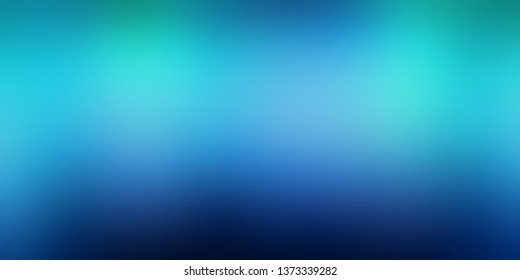 Aurora borealis cool background. Blue azure cyan turquoise gradient. Magical night low light blurred pattern. Clean watercolor texture. Wonderful transition abstract illustration. Interactive banner.
