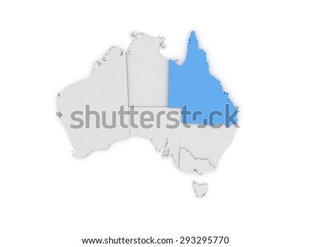 Free 3d Map Of Australia.Royalty Free Stock Illustration Of Australia 3 D Map Stock