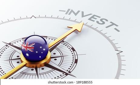 Australia High Resolution Invest Concept