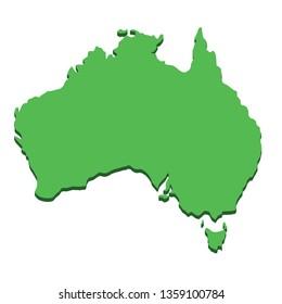 Australia Map Images, Stock Photos & Vectors | Shutterstock on