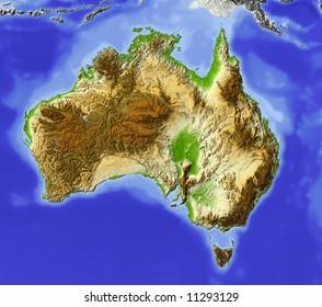 Topographic Map Australia Images, Stock Photos & Vectors ...