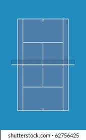 Australian open court