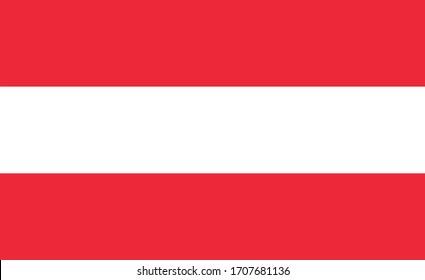 Österreichische Landesflagge für Österreich