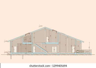 Construction Section Stock Illustrations Images Vectors