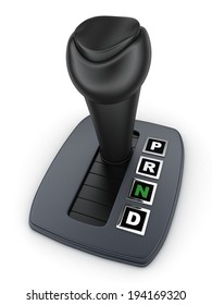 Automatic gearbox car (done in 3d)