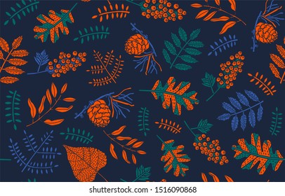 Autumn Backgrounds with leaves for shopping sale, promo poster and frame leaflet, web banner.