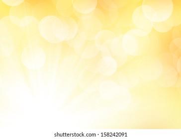 Autumn colorful blur bokeh background