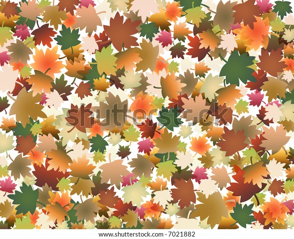 Autumn fall background with coloured leaves