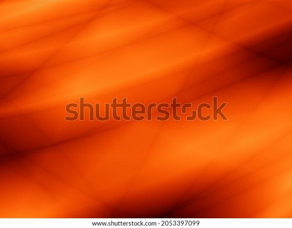 Autumn wallpaper of orange color art leaf design