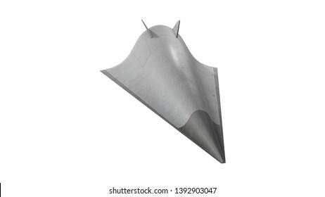 Avangard (hypersonic glide vehicle) 3D illustration