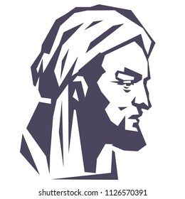 Avicenna, Ibni, Sina, Pour, Ibn, Graphic, person, portrait