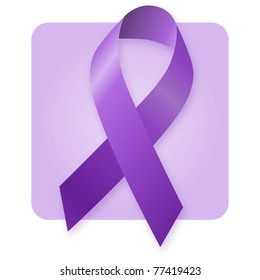 Awareness Ribbon - Alzheimer's Disease