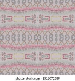 Aztec Pattern. Grey Minimal Limitless Texture. White Watercolor Art. Deep Pink Endless Backdrop. Grunge Texture. Maroon Aztec Pattern.