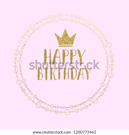 Baby Pink Birthday Card Layout For Your Special Guy