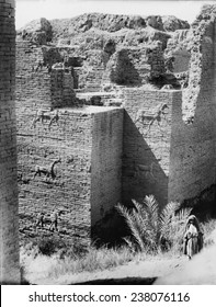 Babylon, The Ishtar Gate, Iraq, ca 1932.