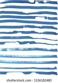 Backdrop with blue horizontal stripes. Nautical style.