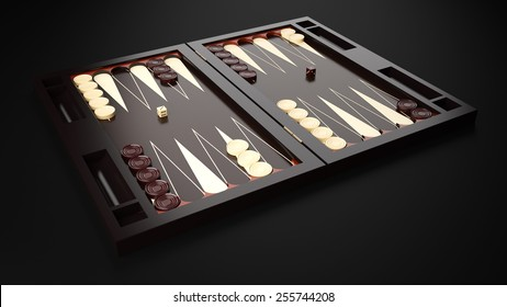 Backgammon Table Game Board