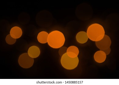 background black abstract bokeh for Christmas night light holiday