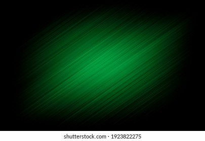 Background black and green dark are light with the gradient is the Surface with templates metal texture soft lines tech gradient abstract diagonal background silver black sleek with gray.